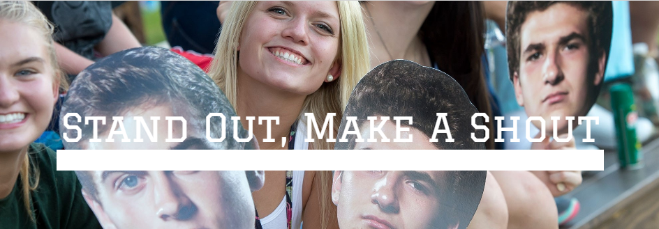 Stand out, Make a shout with Cheer Heads!